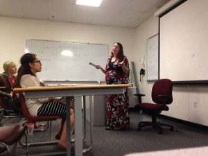Visiting Nicelle's Class - 10.1.14